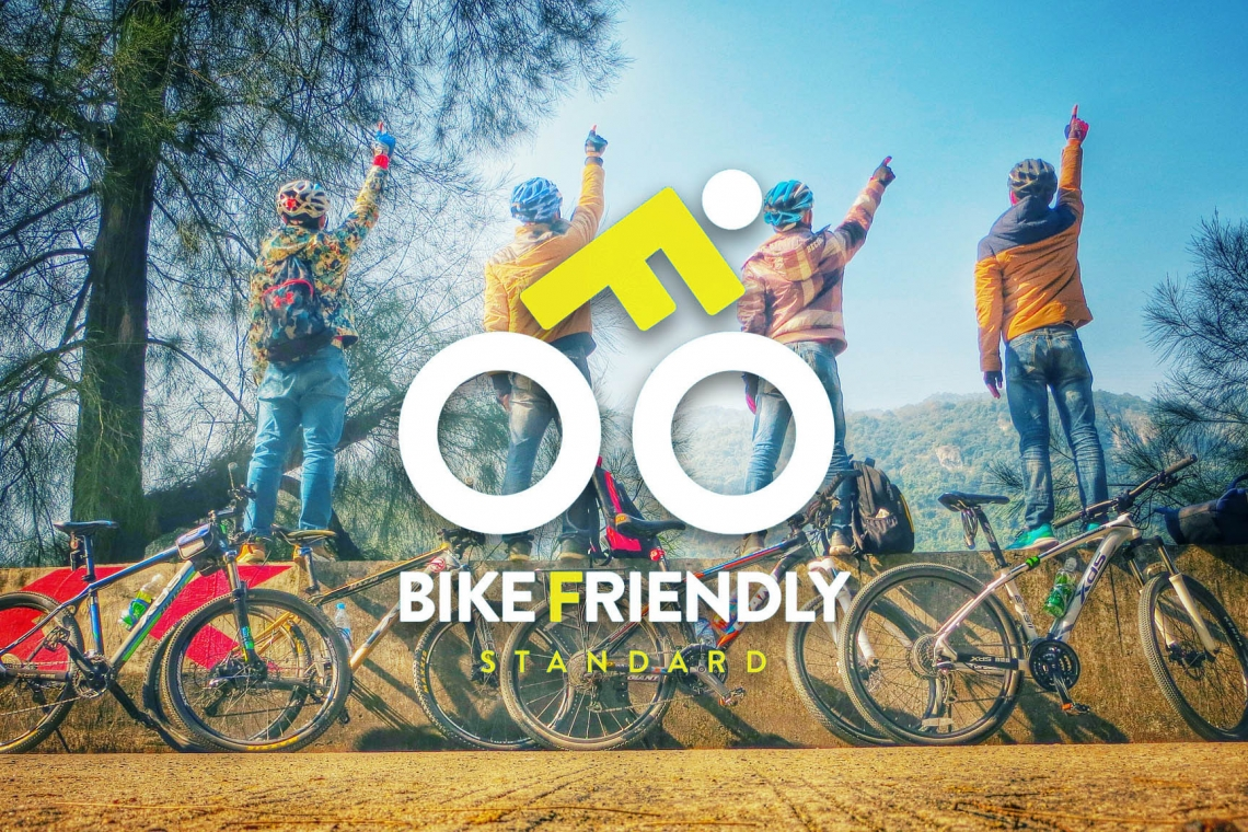 Bike friendly standard workshop organized